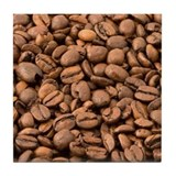 Coffee Beans Tile Coaster