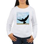 Pigeon Fly Home Women's Long Sleeve T-Shirt