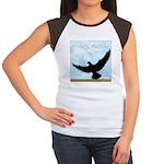 Pigeon Fly Home Women's Cap Sleeve T-Shirt
