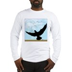 Pigeon Fly Home Long Sleeve T-Shirt