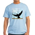 Pigeon Fly Home Light T-Shirt
