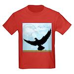 Pigeon Fly Home Kids Dark T-Shirt