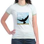 Pigeon Fly Home Jr. Ringer T-Shirt