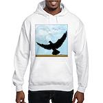 Pigeon Fly Home Hooded Sweatshirt