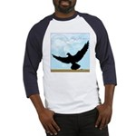 Pigeon Fly Home Baseball Jersey