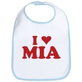 I LOVE MIA Bib