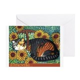 Cute Baskets Greeting Card