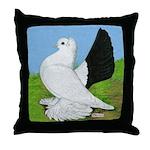 Russian Pigeon Throw Pillow