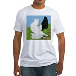 Russian Pigeon Fitted T-Shirt