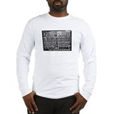 Drippy Patch Modular Synth (N Long Sleeve T-Shirt
