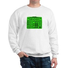 Synthi Green Sweatshirt