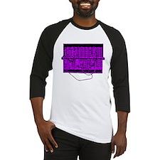 Modular Synth Purple/Black Baseball Jersey