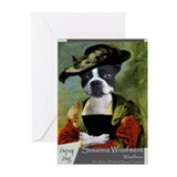 Boston Terrier RUBENS Greeting Cards (Pk of 10)