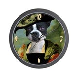 Boston Terrier RUBENS Wall Clock