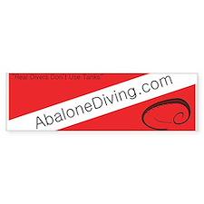 Abalone Diving Bumper Bumper Sticker