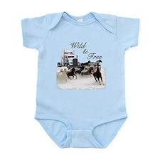 Wild & Free Infant Bodysuit