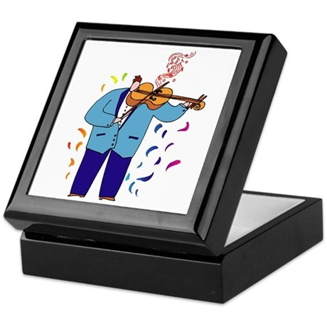 Violin Viola Player Keepsake Box