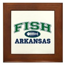 FISH ARKANSAS Framed Tile