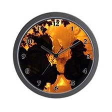 Firefighter Flashover Wall Clock