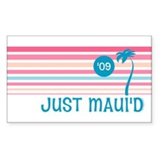 Stripe Just Maui'd '09 Decal