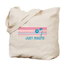 Stripe Just Maui'd '09 Tote Bag
