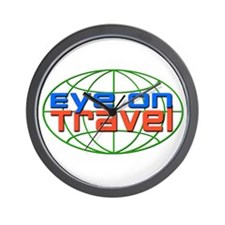 Eye On Travel Wall Clock