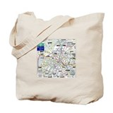 London/Paris Tote Bag