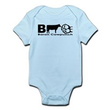 Boron Cowpunch Infant Creeper