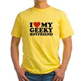 I Love My Geeky Boyfriend T