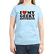 I Love My Geeky Boyfriend T-Shirt