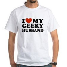 I Love My Geeky Husband Shirt