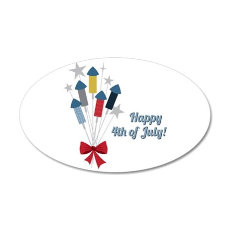 4th Of July Wall Decal
