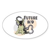Future K9 Oval Decal