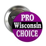 Pro-Choice Wisconsin Button