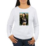 MonaLisa-Aussie Shep (Tri-L) Women's Long Sleeve T
