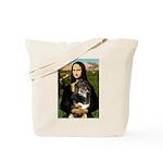 MonaLisa-Aussie Shep (Tri-L) Tote Bag