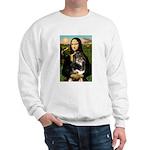 MonaLisa-Aussie Shep (Tri-L) Sweatshirt
