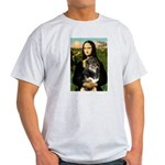 MonaLisa-Aussie Shep (Tri-L) Light T-Shirt