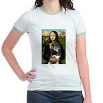 MonaLisa-Aussie Shep (Tri-L) Jr. Ringer T-Shirt