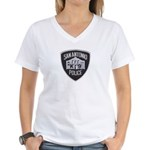 San Antonio PD Canine Women's V-Neck T-Shirt