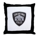 San Antonio PD Canine Throw Pillow