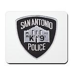 San Antonio PD Canine Mousepad