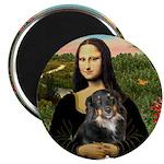 MonaLisa-Aussie Shep (Tri-L) Magnet