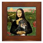 MonaLisa-Aussie Shep (Tri-L) Framed Tile