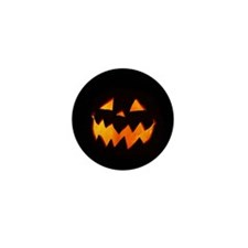 Unique Jack o lantern Mini Button (10 pack)