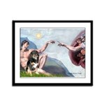 Creation - Aussie (Tri-L) Framed Panel Print