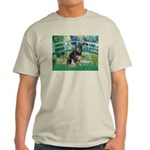 Bridge-Aussie Shep - Tri (L) Light T-Shirt