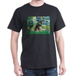 Bridge-Aussie Shep - Tri (L) Dark T-Shirt
