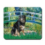Bridge-Aussie Shep - Tri (L) Mousepad