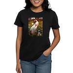 Windflowers-AussieShep (L) Women's Dark T-Shirt